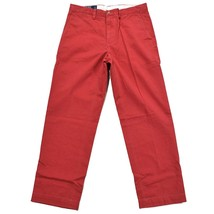 NEW Polo Ralph Lauren Chino CLASSIC FIT Jeans Pants 32 30 32W 30L NANTUCKET RED - $51.38