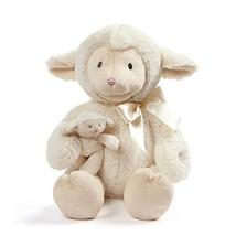 "Baby GUND Animated Talking Nursey Time Lamb with 5 Nursery Rhymes, 10"" - $39.99"