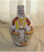 "Giovanni Desimone Italy Man Sun Fish Bulb Style Vase 11 1/2"" Fisherman - $202.50"