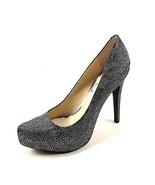 Jessica Simpson Parisah 4 Pewter Multi High Heel Platform Dressy Pumps S... - $52.80