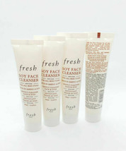Lot of 4 NEW Fresh Soy Face Cleanser Face & Eyes Makeup 0.67oz / 20ml Tr... - $25.00
