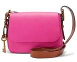 Fossil Women's Harper Small Crossbody Hot Pink Bag ZB7212694