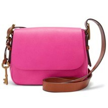 Fossil Women's Harper Small Crossbody Hot Pink Bag ZB7212694 - $98.98