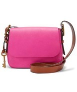 Fossil Women's Harper Small Crossbody Hot Pink Bag ZB7212694 - £71.55 GBP
