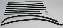 EARLY 1965 IMPALA 4 DOOR HARDTOP WINDOW BELTLINE WEATHERSTRIP SUPERKIT 1... - $212.77