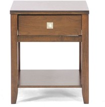New Jersey Brown Wood Modern End Table - $229.68