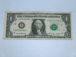 2009 $1 Dollar Bill US Bank Note Date Birthday Year 1972 1162 Fancy Mone... - $14.83