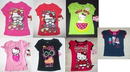 Hello Kitty Toddler Girls T-Shirts Various Shirts Sizes 18M, 24M, 2T and... - $9.79