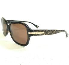 Coach HC8105 (L082 Amber) 5227T5 Sunglasses Eyeglasses Frames Tortoise R... - $43.93