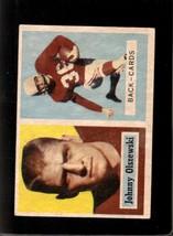 1957 Topps #62 John Olszewski Vg+ - $1.75