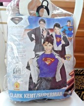 Youth Cark Kent / Superman Halloween Costume Size Large (12-14) - $12.50
