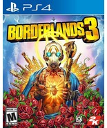 PS4 PlayStation 4 BORDERLANDS 3 Game w/ Gold Weapon Skins Pack New Seale... - $52.99
