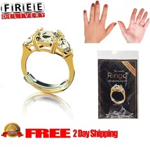 Invisible Ring Self Adjusting Ring Size Reducer Set Jewelry Tools Sizer ... - $14.92