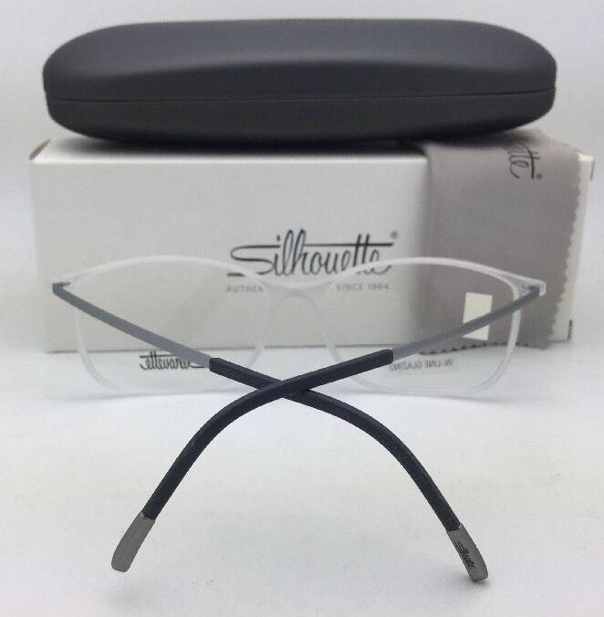 34d4d70bc86 57. 57. New SILHOUETTE Eyeglasses SPX 2904 60 6051 54-18 Matte Black    Gunmetal Frame. New SILHOUETTE ...