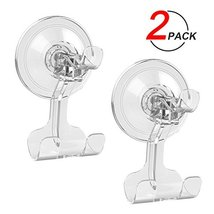 Suction Cup Hook LUXEAR Removable Hook Razor Holder for Shower Suction Hooks for image 3