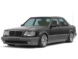 Mercedes-Benz W124 1984—1996 Seat Covers Perforated Leatherette eco-leather - $173.25