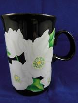 Dunoon Stoneware  Mug Cup Caroline Bessey Christmas Rose  Scotland - $14.84