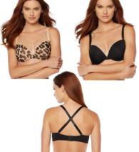 "Rhonda Shear ""Va Va Voom"" Push-Up Bra with Extra Straps 38C (HSN 561-777) - ₨1,525.22 INR"