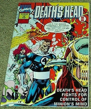 "Death's Head II No. 2 Apr Part Two of Four ""Reed Richards Dies Tonight!"" [Paperb"