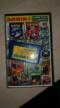 Game Cartridge Console Game Boy Game Collections 369 in 1 English Versio... - $19.90