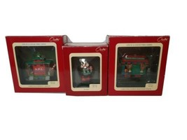 Carlton Cards Heirloom Collection Christmas Ornaments Lot of 3 - $19.75