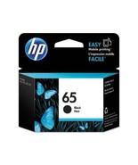 Genuine New HP 65 Black Original Ink Cartridge N9K02AN Exp 2021 - $19.99