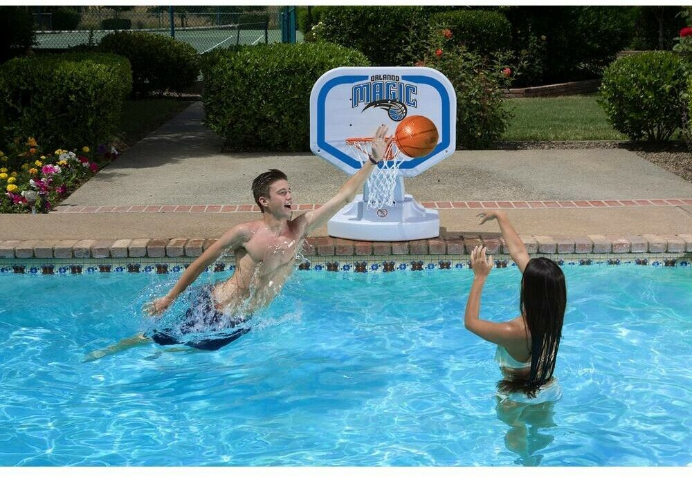 Poolmaster Swimming Pool Basketball Hoop 34 in. x 25.5 in. Plastic Multicolored