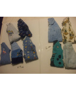 Lot 9 Baby Rompers 6-9 Months Cotton Blends - $15.83