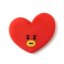 BT21 Tata Silicon Hand Mirror One Size Red - $16.27