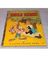 Little Golden Book Walt Disney's Uncle Remus Tar Baby .25 Cent  - $14.95
