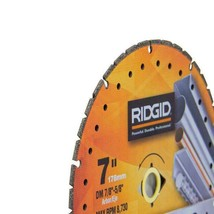 Ridgid 7 in. Metal Cutting Diamond Blade MTL70 - $24.74