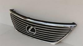 07-09 Lexus LS460 LS460L LS600H Upper Bumper Rad Chrome Grill Grille W/Emblem image 2