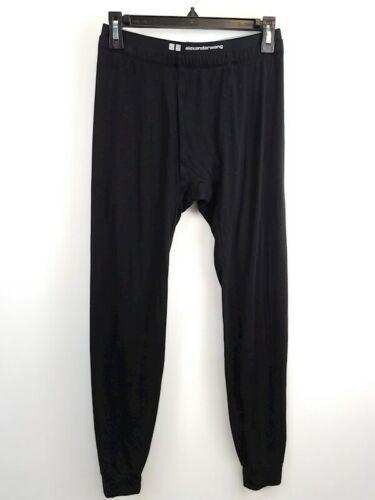 Alexander Wang x Uniqlo Men Black Activewear Pants M Heattech Extra Warm