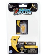Worlds Smallest Mighty Morphin Power Rangers Micro Action Figure: Yellow... - $11.88