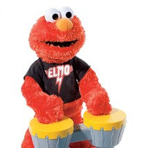 Let's Rock Elmo by Hasbro Sesame Street With Drums - $39.55