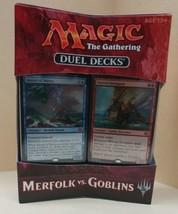 MTG Magic the Gathering MERFOLK vs GOBLINS Duel Decks New MIB Sealed Box - $19.79
