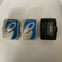 Lot of 3 Walkman for Parts Or Repair Vintage SONY WM-FX401 & 2 Craig CS2... - $40.12
