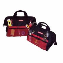 Craftsman Tool Bag Combo Strong Zippers Mesh Pockets Handyman Storing 1... - $19.26