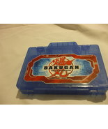 Blue Bakugan BattleBrawlers Plastic Storage Case With Compartments - $6.87