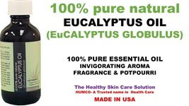 3 HUMCO Eucalyptus 100% Pure Natural Essential Oil 4oz Potpourri Exp Dat... - $36.17