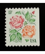 1978 15c Roses, Booklet Single Scott 1737 Mint F/VF NH - $0.99