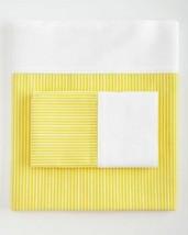 2 Ralph Lauren Bengal Yellow Stripes White Border Standard Pillowcases $... - $44.99