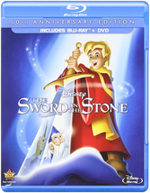 Disney's The Sword in the Stone (50th Anniversary Edition) (Blu-ray + DVD)