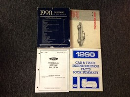 1990 Ford Mustang Gt Cobra Service Shop Repair Manual SET W EWD + Facts Summary - $178.15