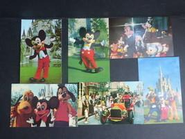 Walt Disney World Post Cards (6) Mickey Mouse, Unused - $9.89