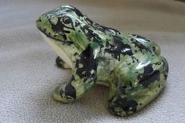 Vintage McCoy Pottery Frog Flower Frog - $39.95