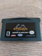 Nintendo Game Boy Advance GBA Battle Bots: Design & Destroy image 2