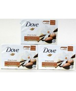 3 Packs Dove Shea Butter & Warm Vanilla Scent Gentle 2 Count Beauty Crea... - $19.99