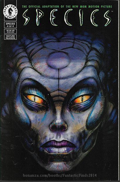 Species #4 (1995) *Dark Horse Comics / Official Comics Adaptation / Mini-Series* - $5.00