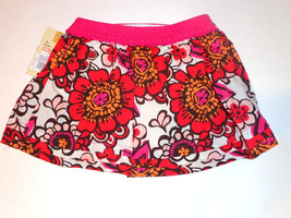 Cherokee Infant Girls Floral Skirt Size 9 Months NWT - $5.03
